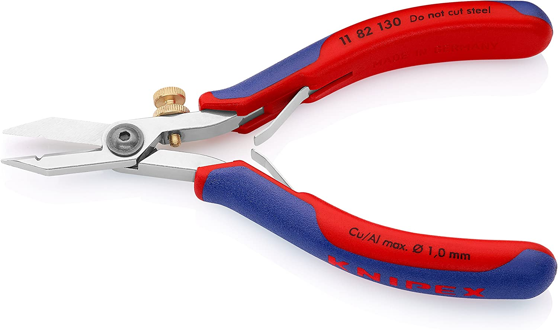Knipex Pinces ESD 130 mm Noir Knipex Pointu Pince à épiler qr4028372 ESD-Pince à épiler NC