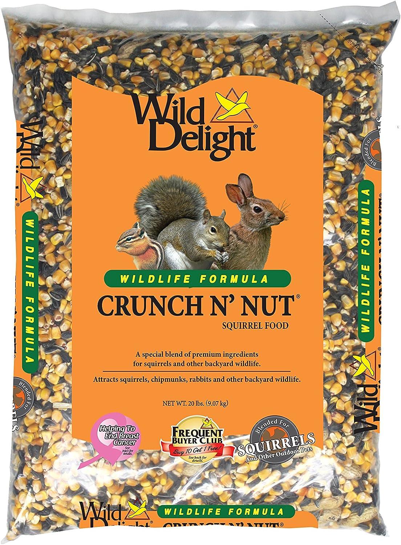 Wild Delight Crunch N' Nut Squirrel Food