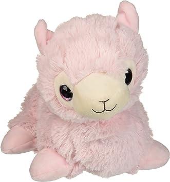 Amazon.com: Intelex Warmies - Peluche de llama, color rosa ...