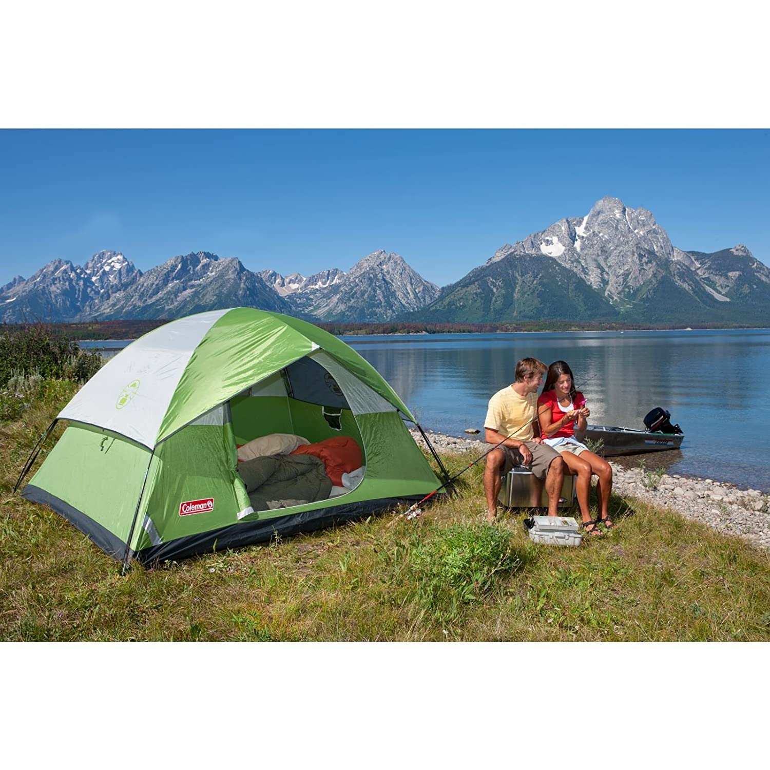 Sundome 4 Person Tent  sc 1 st  Tactical Gears Lab & The 10 Best Cheap Camping Tents in 2018 - Review with Buying Guide
