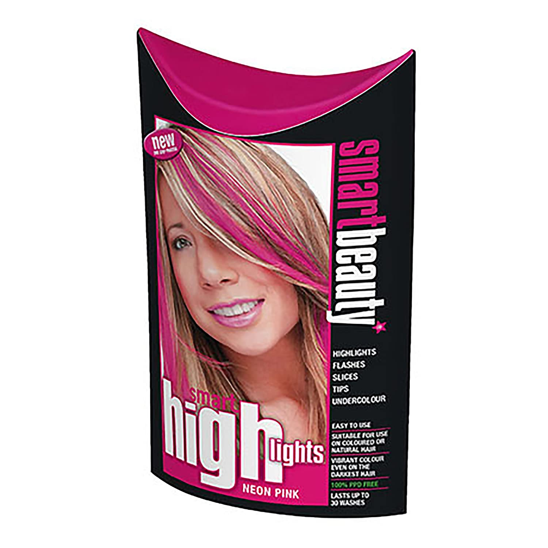 Smart Highlights Neon Pink Hair Colour Amazon Beauty