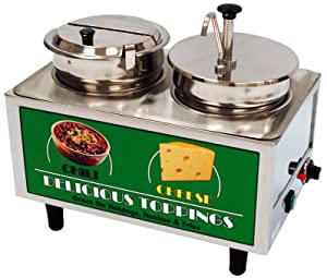 Benchmark USA 51073A Chili and Cheese Warmer Model Number, 17