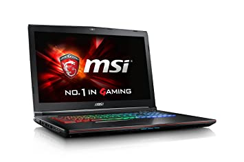 MSI Gaming GE72 6QD(Apache Pro)-007ES - Ordenador portátil (i7-6700HQ, DVD±RW, Touchpad, Windows 10 Home, Ión de litio, 64-bit): Amazon.es: Informática