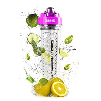 Duronic 600 CR/PK Botella de Agua Deportiva de Recambio para la Batidora de Smoothies