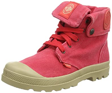 official store new design new arrive Palladium BAGGY ZIPPER, Desert boots mixte enfant, Rouge ...