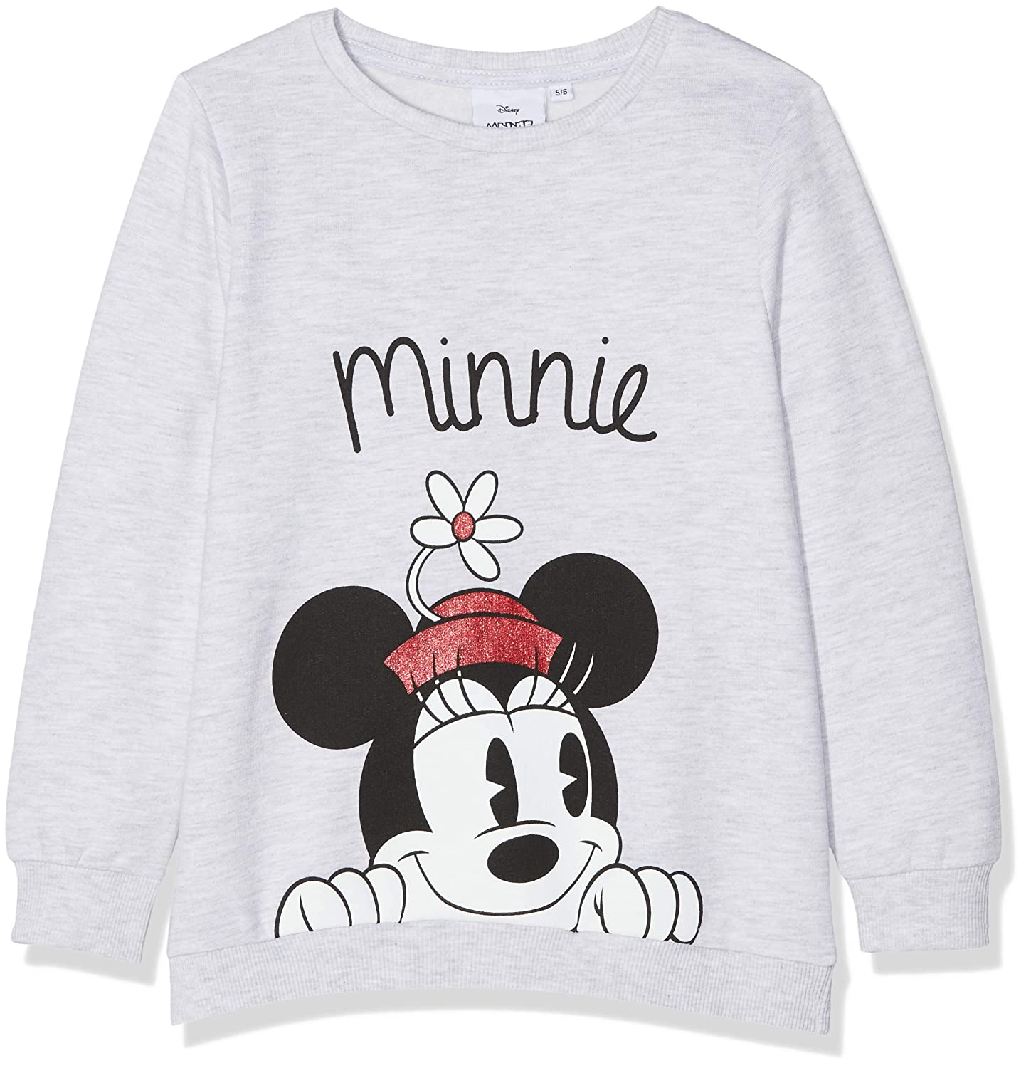 Disney Minnie Mouse Minnie Mouse Flower Hat, Felpa Bambina MO50802