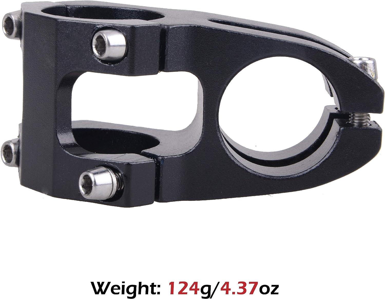 Road Bike Cycling TRIWONDER Bike Stem 31.8 32mm 40mm 90mm Handlebar Stem Riser Mountain Bike Stem Short Handlebar Stem for Most Bicycle BMX Fixie Gear MTB