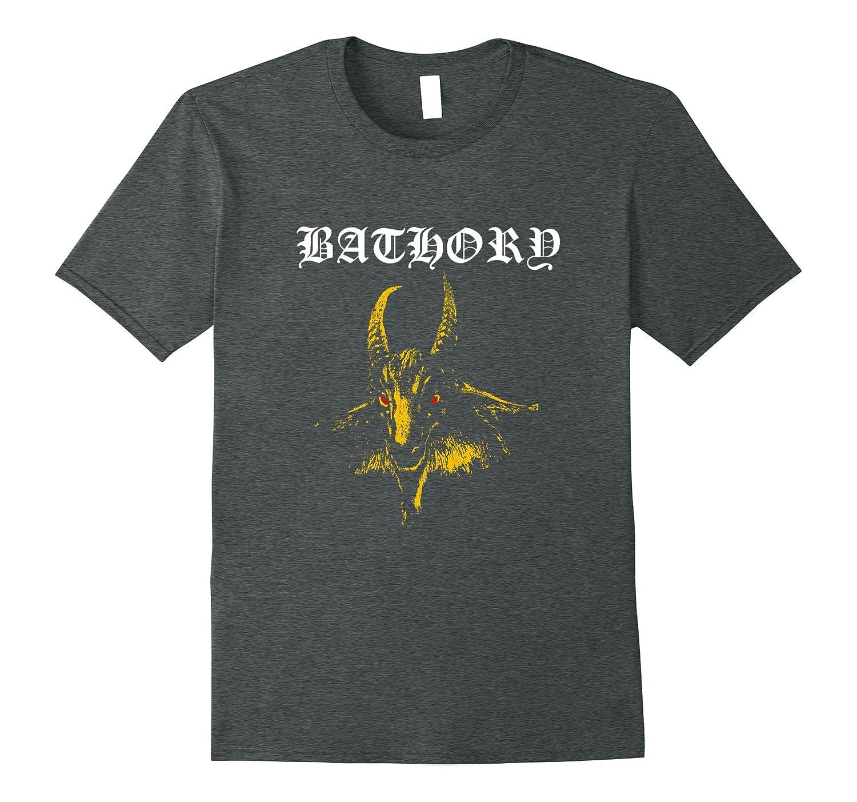 Bathory Classic Goat Logo T Shirt   Official Merch-Teesml
