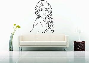 Wall Car Vinyl Decal Sticker Mural Swift Singer Girl Sexy Hot Pop Salon