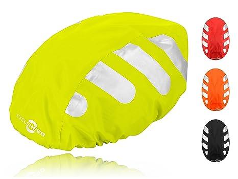 Regenschutzhaube für Fahrradhelm Regenhaube für Helm  Reflektoren Helme
