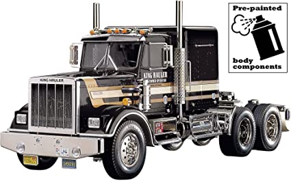 Amazon.com: Tamiya 56336 RC King Hauler Black Edition: Toys & Games
