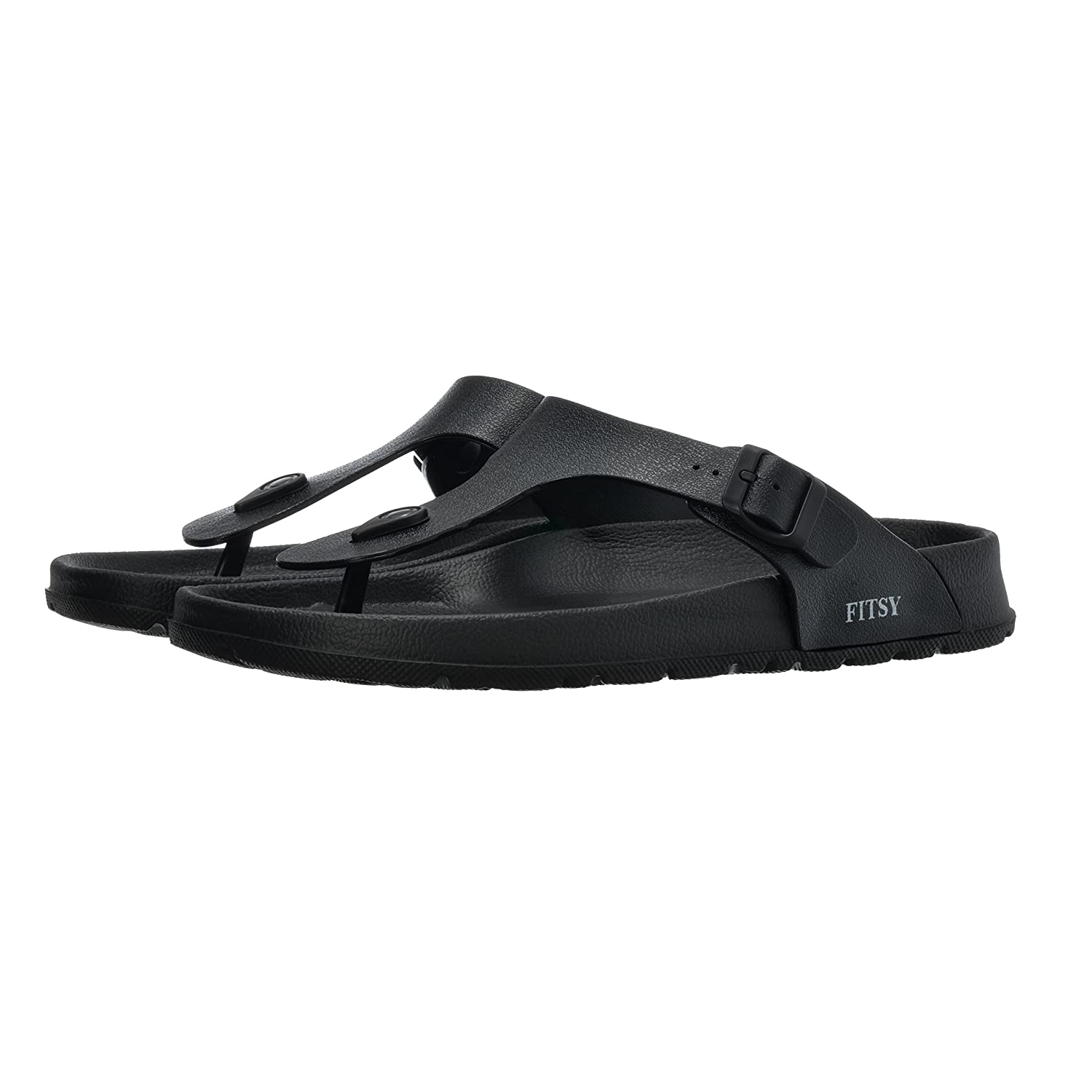 77f7c6459f845 Amazon.com  FITSY Thomas Men s Toe Post Flip-Flop Summer Holiday  Indoor Outdoor Shower Garden Anti-Slip Pool Thong Beach Sandals (US 10.5