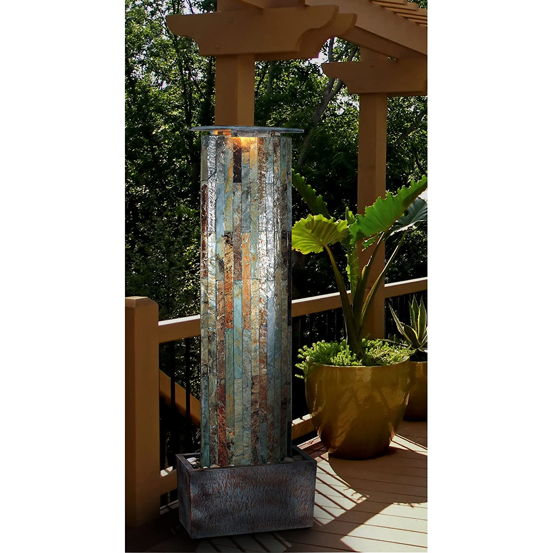 Amazon.com: Kenroy Home #50255SL Waterwall Indoor/Outdoor Floor ...