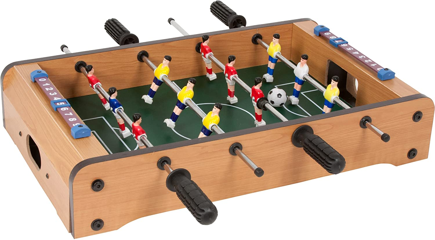99 Game Rooms Tabletop Mini Foosball Game By Trademark Innovations MINI-FOOSBALL