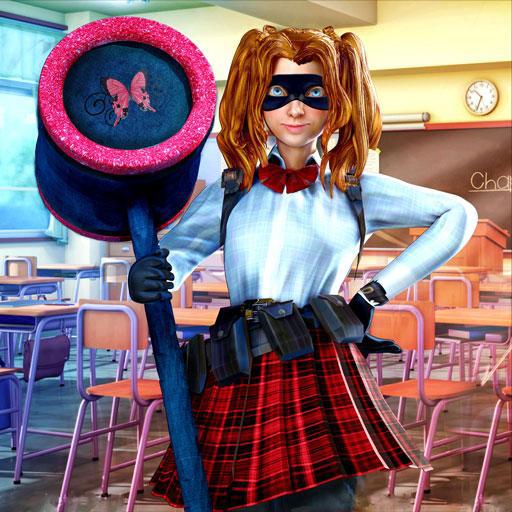 High School Girl Hustle Gang Escape