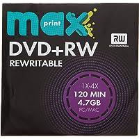 MÍDIA DVD+RW Gravável MAXPRINT 4.7 GB - 120 MIN - 16X - Envelope Papel