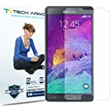 Galaxy Note 4 Screen Protector, Tech Armor High Definition HD-Clear Samsung Galaxy Note 4 Film Screen Protector [3-Pack]