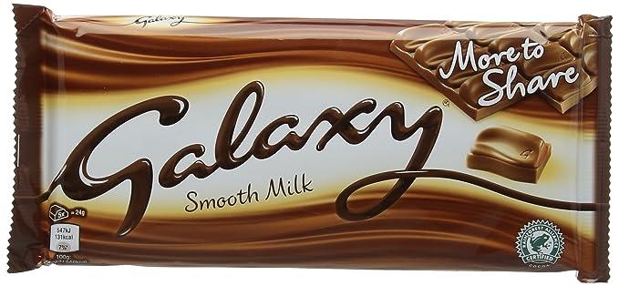 Galaxy Milk Chocolate Bar 200 G Pack Of 20