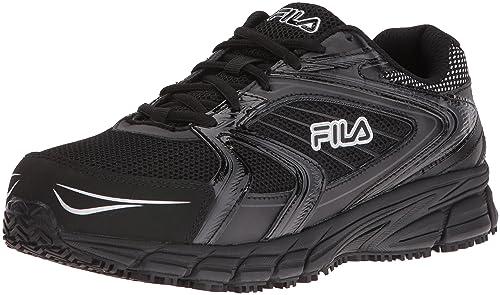 Fila Men s Memory Reckoning 7 Work Slip Resistant Steel Toe Running Shoe