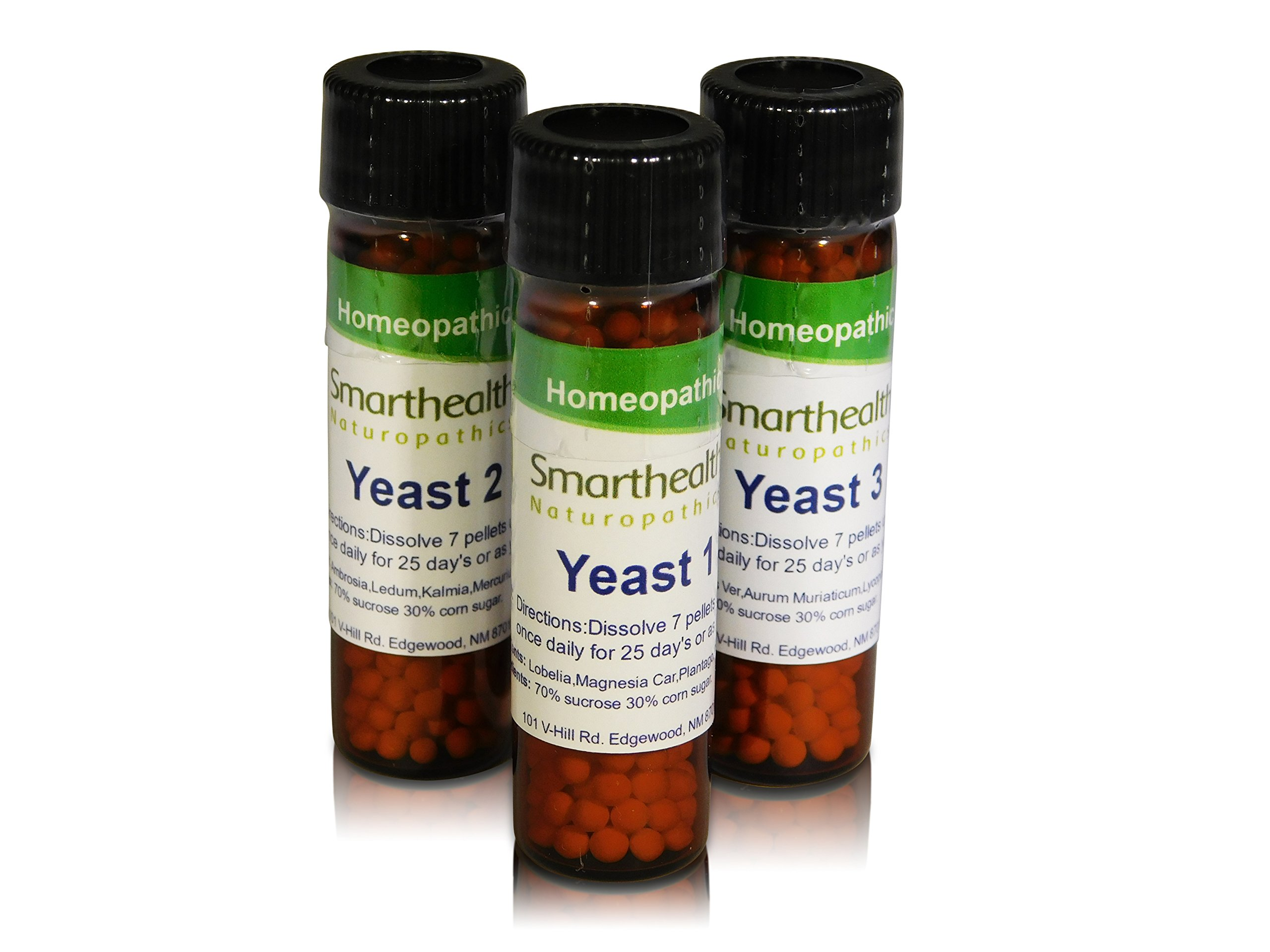 Yeast Infection Formula. Candida Albicans,All Natural Homeopathic Pills.UTI's by Smarthealth, naturopathics