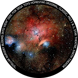 Stellar Nursery Blooms into View - disc for Sega Toys Homestar Classic/Flux/Original Planetarium