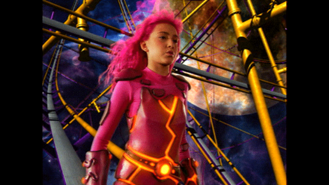 The Adventures Of Sharkboy And Lavagirl Roller Coaster