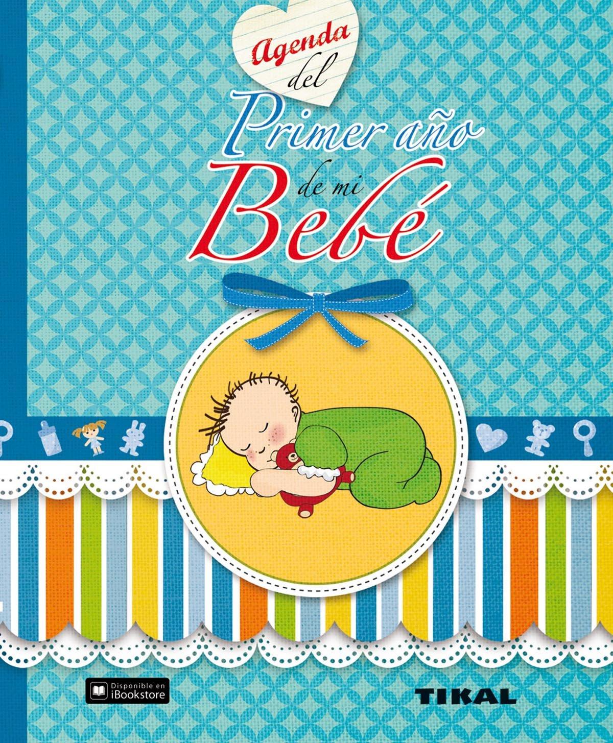Agenda del primer año de mi bebé (Agenda de mi bebé): Amazon ...
