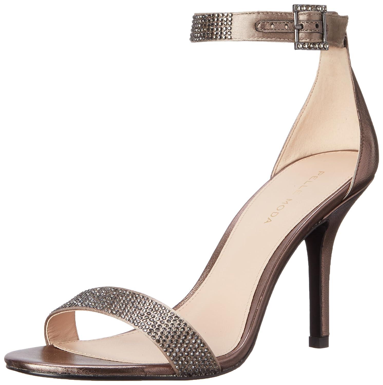 Pelle Moda Women's Kacey Dress Sandal B008FKCWAS 8.5 B(M) US|Pewter