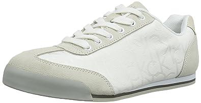 cd49bc382d Calvin Klein Cale Ck Logo Jacquard/Suede, Men Low-Top Sneakers ...