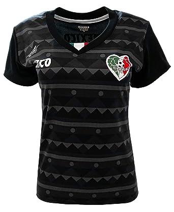 3af63633c28 Amazon.com  New Arza Women Mexico Slim Fit Jersey Black Purple (XX ...