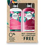 Herbal Essences Bio:Renew White Strawberry & Mint Shampoo 400 ml + Conditioner 400ml