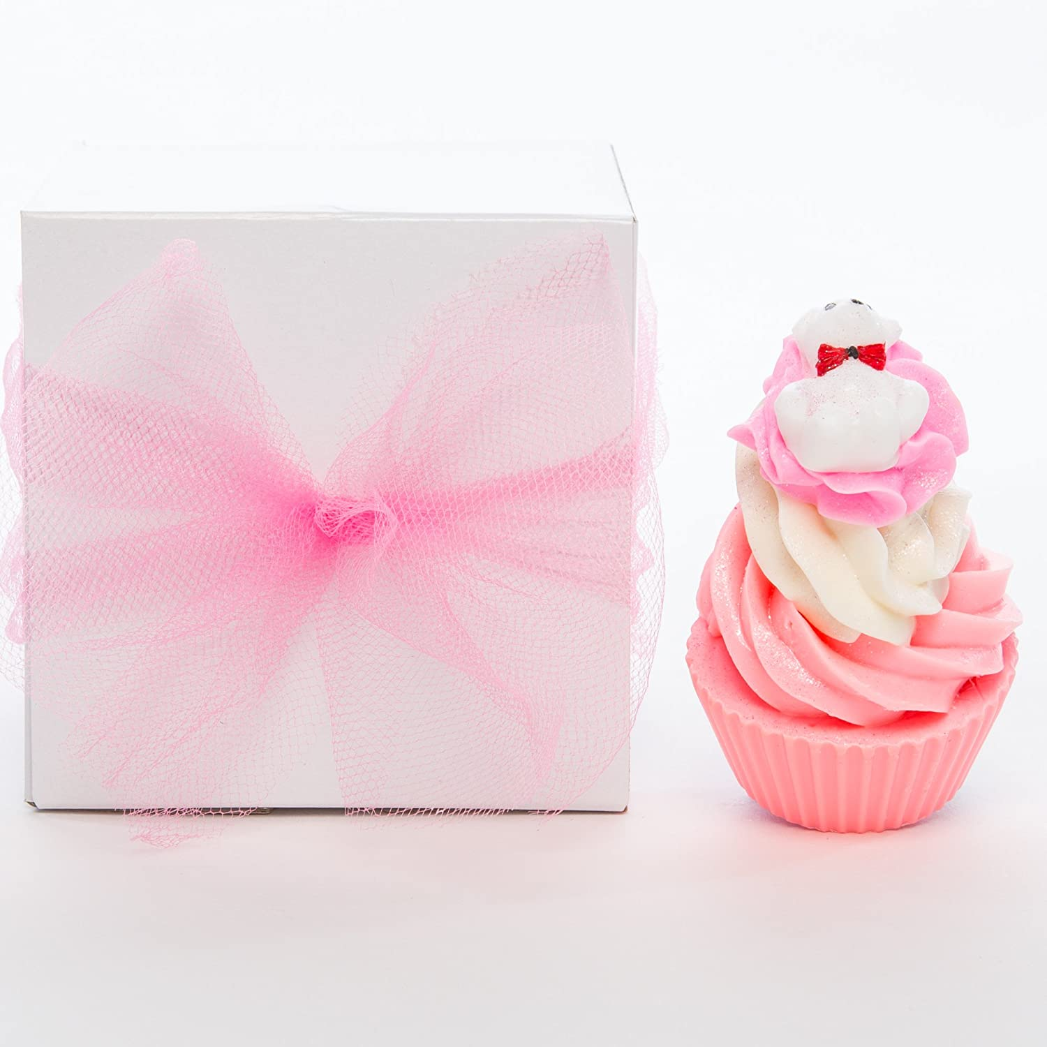 Amazon.com : Handmade Soap Cupcake Gift Sets -Perfect Gifts For ...
