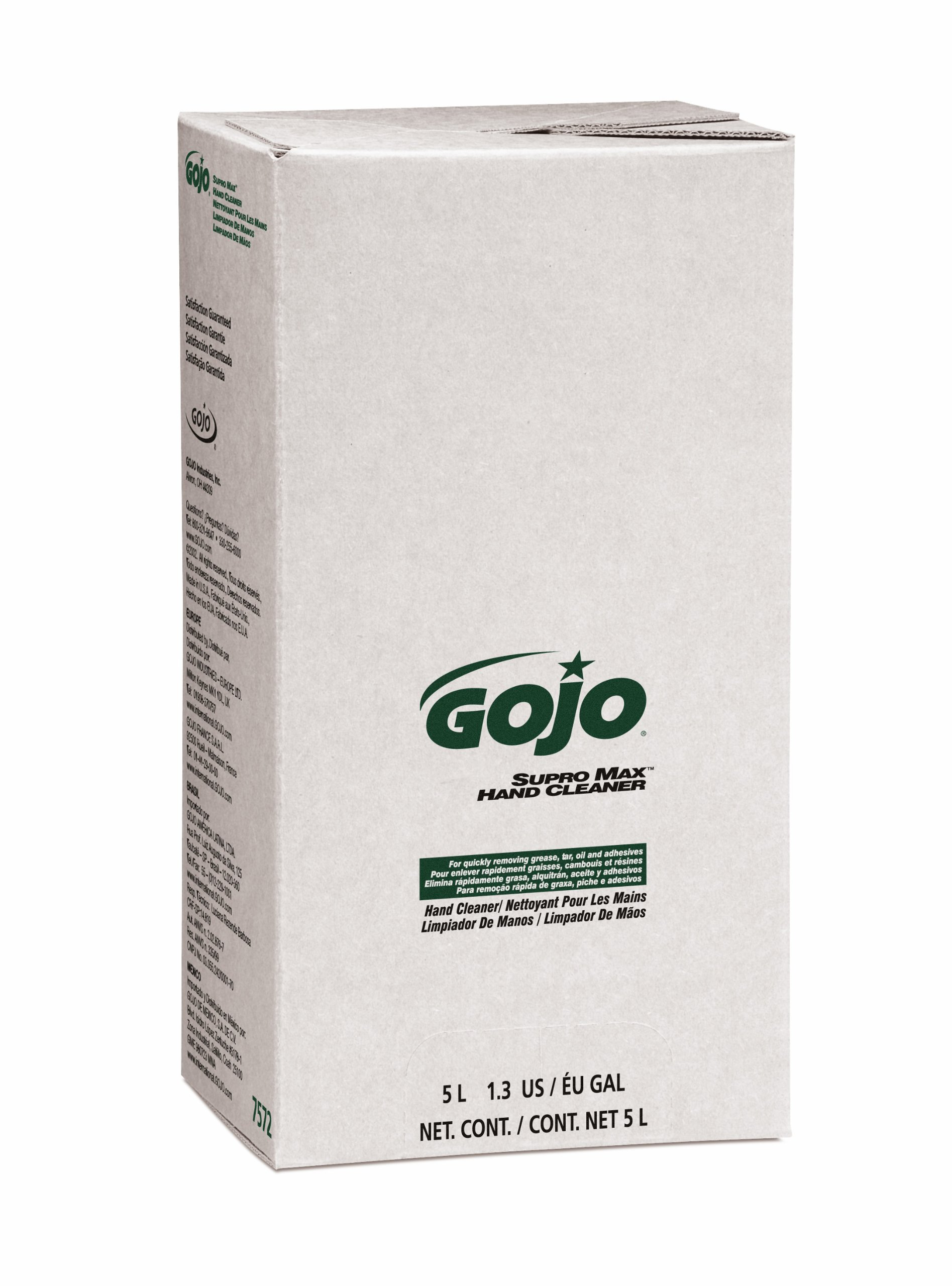 GOJO PRO TDX SUPRO MAX Hand Cleaner, 5000 mL Heavy-Duty Hand Cleaner Refill for GOJO PRO TDX Dispenser (Pack of 2) - 7572-02 by Gojo (Image #2)