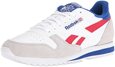eca321f5593c1 Reebok Men s CL Leather Ripple Low BP Fashion Sneaker