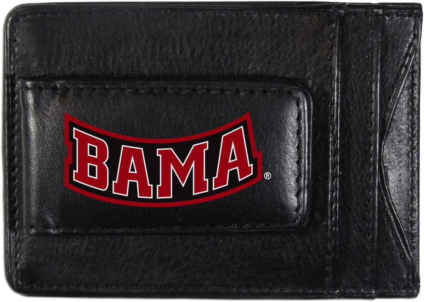 Black Siskiyou NCAA Florida Gators Logo Leather Cash and Cardholder