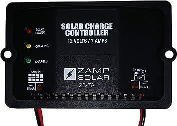 Amazon Com Zamp Solar Zs7a Solar Charge Controller Automotive