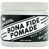 Bona Fide Pomade, スーパースーペリアホールドSE, 4OZ 水性/グリース