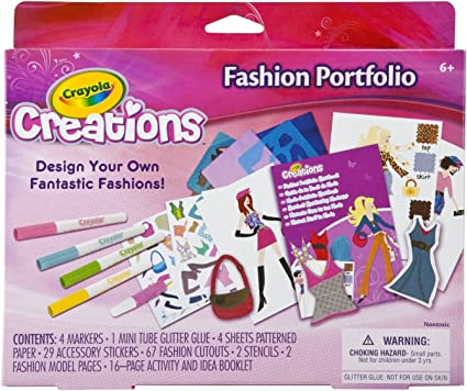 Crayola Creations Glitter Markers 6 pack
