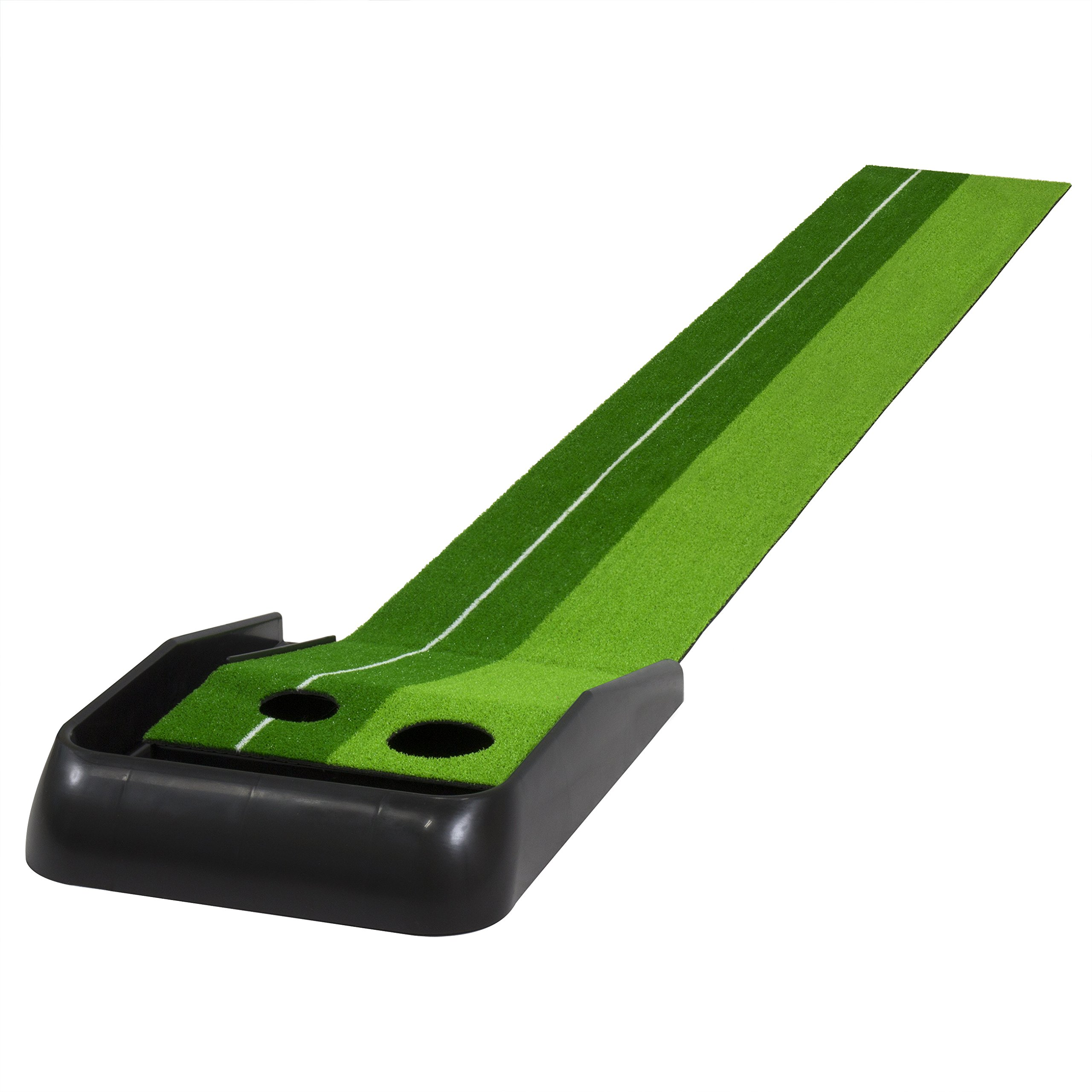 Best Choice Products Indoor Training 8 Ft. Golf Practice Putting Green Mat W/Ball Return
