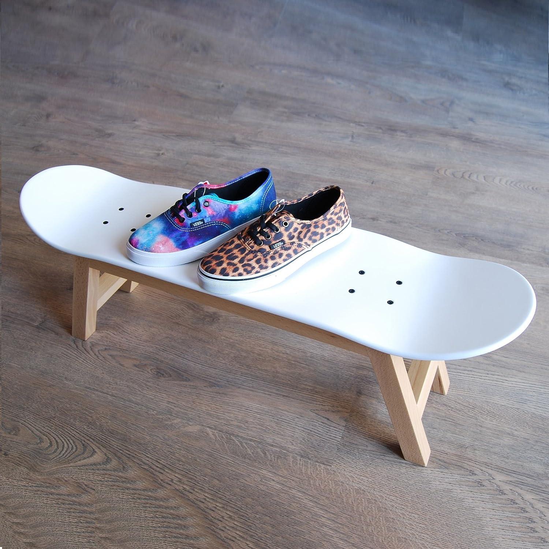 Skateboard Hocker U2013 Neue Kinder Skateboarder Fun Geschenk Idee, Nordic  Weiß: Amazon.de: Küche U0026 Haushalt