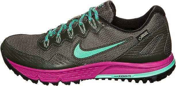 Nike Wmns Air Zoom Wildhorse 3 GTX, Zapatillas de Running para Mujer, Beige (Cargo Khaki/Menta-FCHS Flash), 38 EU: Amazon.es: Zapatos y complementos