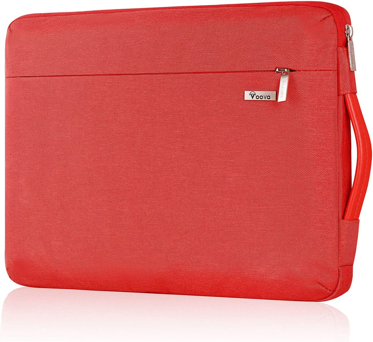 Voova Laptop Sleeve Case 14 15 15.6 Inch,Upgrade 360° Protective Computer Carrying Cover Bag Compatible with Macbook Pro 15 16 2019, Surface Book 3/2,Hp Acer Asus Chromebook for Women Girls,Waterproof