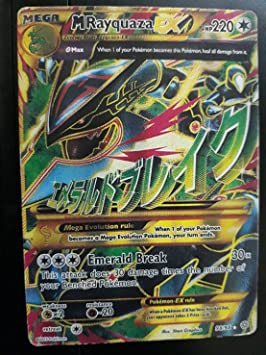 Pokemon Mega Rayquaza Shiny Jumbo: Amazon co uk: Toys & Games