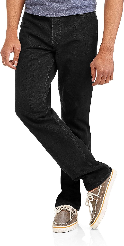Amazon Com Faded Glory Pantalones Vaqueros Para Hombre Color Azul 29 Cintura X 32 Largo Clothing