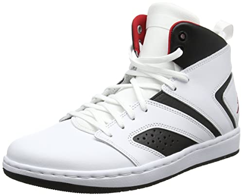 cheaper 63373 17adb Nike Jordan Flight Legend, Zapatos de Baloncesto para Hombre, (White/Gym  Red-Black 112), 44 EU: Amazon.es: Zapatos y complementos