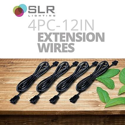 Awe Inspiring Amazon Com Slr 4Pc 12 Inch Led Grow Light Strip Extension Wire Wiring Digital Resources Operpmognl