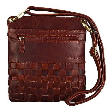 3d2efa35f31a0 STILORD  Sophie  Schultertasche Damen klein Leder Handtasche Moderne  Umhängetasche Geflochten Freizeittasche Vintage Abendtasche Ausgehtasche