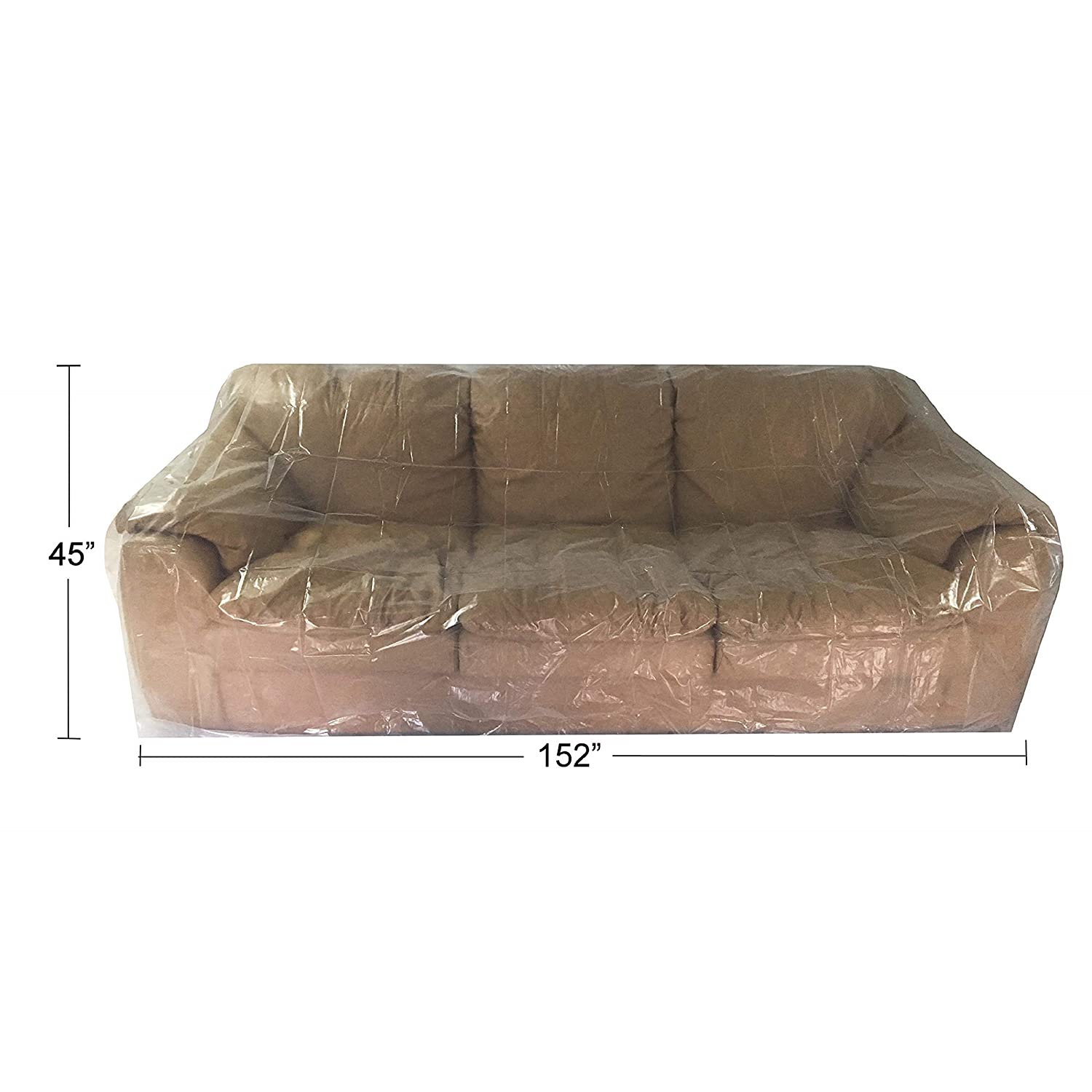 Uboxes Sofa Moving Covers (2 Pack) - 45