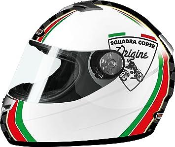 Origine Helmets Golia Corse Casco Integral, Multicolor, L