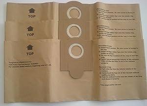 Fein 3 Turbo I 913038K01 Disposable Paper Bags Turbo I Models, Generic 3pk.